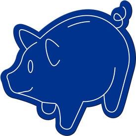 Advertising Piggy Bank Magnet
