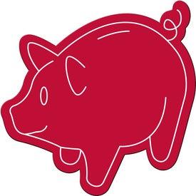 Promotional Piggy Bank Magnet
