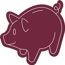 Piggy Bank Magnet Imprinted with Your Logo
