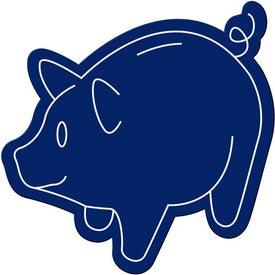Logo Piggy Bank Magnet