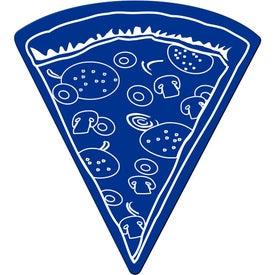 Monogrammed Pizza Slice Flexible Magnet
