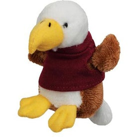 Plush Eagle Magnet