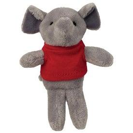 Plush Magnet (Elephant)