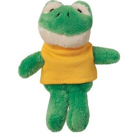 Plush Frog Magnet