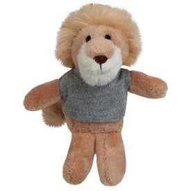 Plush Lion Magnet