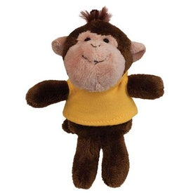 Plush Monkey Magnet