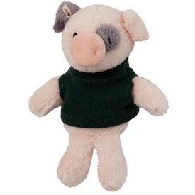 Plush Pig Magnet