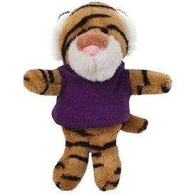 Plush Magnet (Tiger)