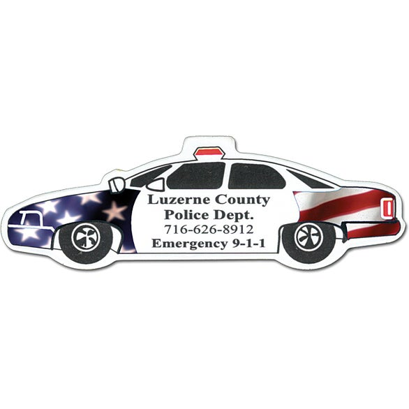 Promotional Police Car Magnets With Custom Logo For Ea - Custom car magnets large