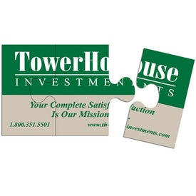 Puzzle Business Card Magnet (.020 Thickness)