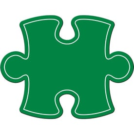 Puzzle Piece Magnet Branded with Your Logo