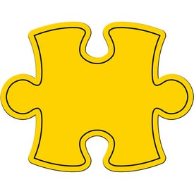 Puzzle Piece Magnet with Your Logo