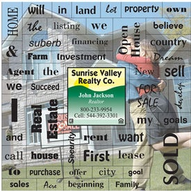 Real Estate Motivation Message Magnet (.020 Thick)