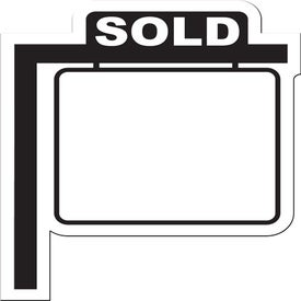Realty Sign Flexible Magnet Printed with Your Logo