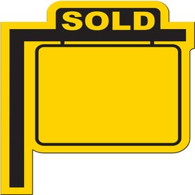 Custom Realty Sign Flexible Magnet
