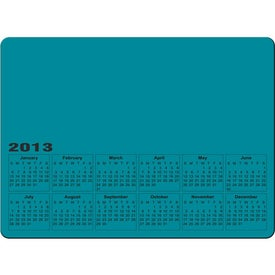 Rectangle Calendar Magnet Printed with Your Logo