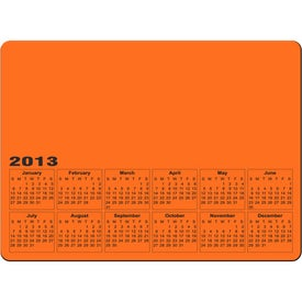 Custom Rectangle Calendar Magnet
