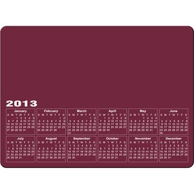 Printed Rectangle Calendar Magnet