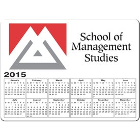 Company Rectangle Calendar Magnet