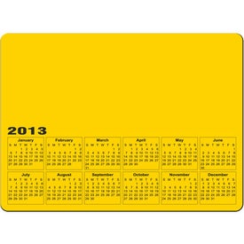 Advertising Rectangle Calendar Magnet