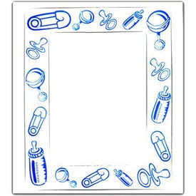 Rectangle Picture Frame Magnet with Your Logo