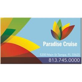 Advertising Rectangular Business Card Magnet
