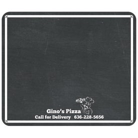 "Chalkboard Magnet (0.026"" Thick, 8.25"" x 7"")"