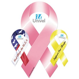 Advertising Ribbon Car Magnet with Cutout