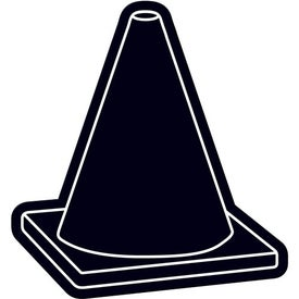 Monogrammed Safety Cone Flexible Magnet