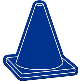 Safety Cone Flexible Magnet Imprinted with Your Logo
