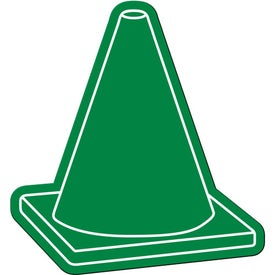 Safety Cone Flexible Magnet Branded with Your Logo