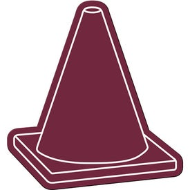 Logo Safety Cone Flexible Magnet