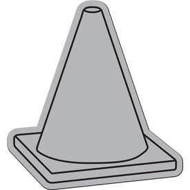 Branded Safety Cone Flexible Magnet