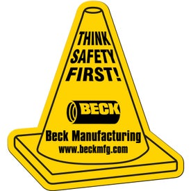 Custom Safety Cone Flexible Magnet