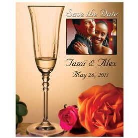 Save the Date Magnet (Glass, .020 Thickness)