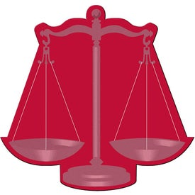 Branded Scales of Justice Flexible Magnet