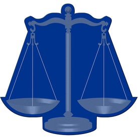 Advertising Scales of Justice Flexible Magnet