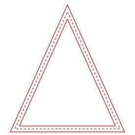 Medium Stock Shape Magnet (Triangle - 20 Mil)
