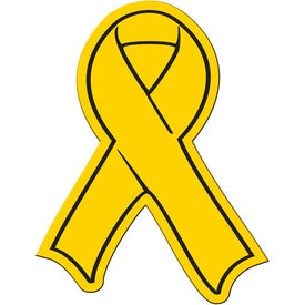Printed Small Awareness Ribbon Magnet