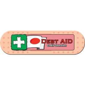 Small Stock Shape Magnet (Bandage - 20 Mil)