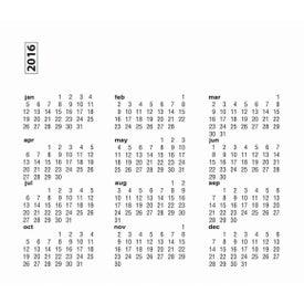 Small Calendar Magnet for Customization