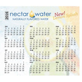 "Small Calendar Magnet (0.03"" Thick, 2020)"