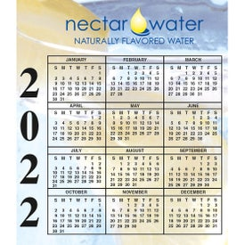 "BIC Small Calendar Magnets (0.02"" Thick, 2021)"