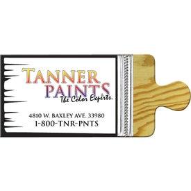 Small Stock Shape Magnet (Paint Brush - 30 Mil)