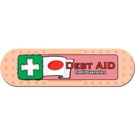 Small Stock Shape Magnet (Bandage - 30 Mil)