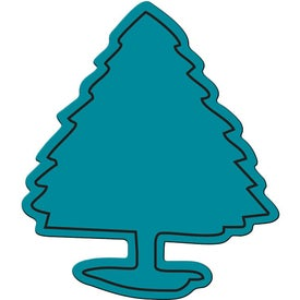 Advertising Spruce Tree Flexible Magnet