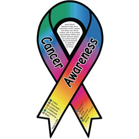 Cancer Awareness Ribbon Magnet (.030 Thickness)