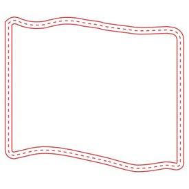 Medium Stock Shape Magnet (Flag - 20 Mil)
