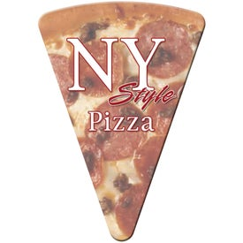 Medium Stock Shape Magnet (Pizza Slice - 30 Mil)