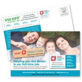 "SuperSeal Direct Mail Postcard (5-3/16"" x 8"")"